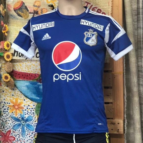 32c2797271d Millonarios FC Soccer Jersey - Bogota Colombia